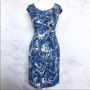 Adrianna Papell   Floral Paisley Sheath Dress